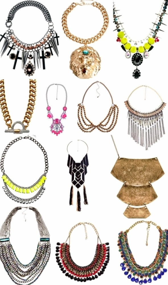Statement necklaces (1/2)