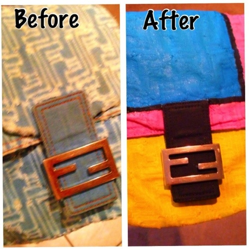 DIY bag makeover (1/6)