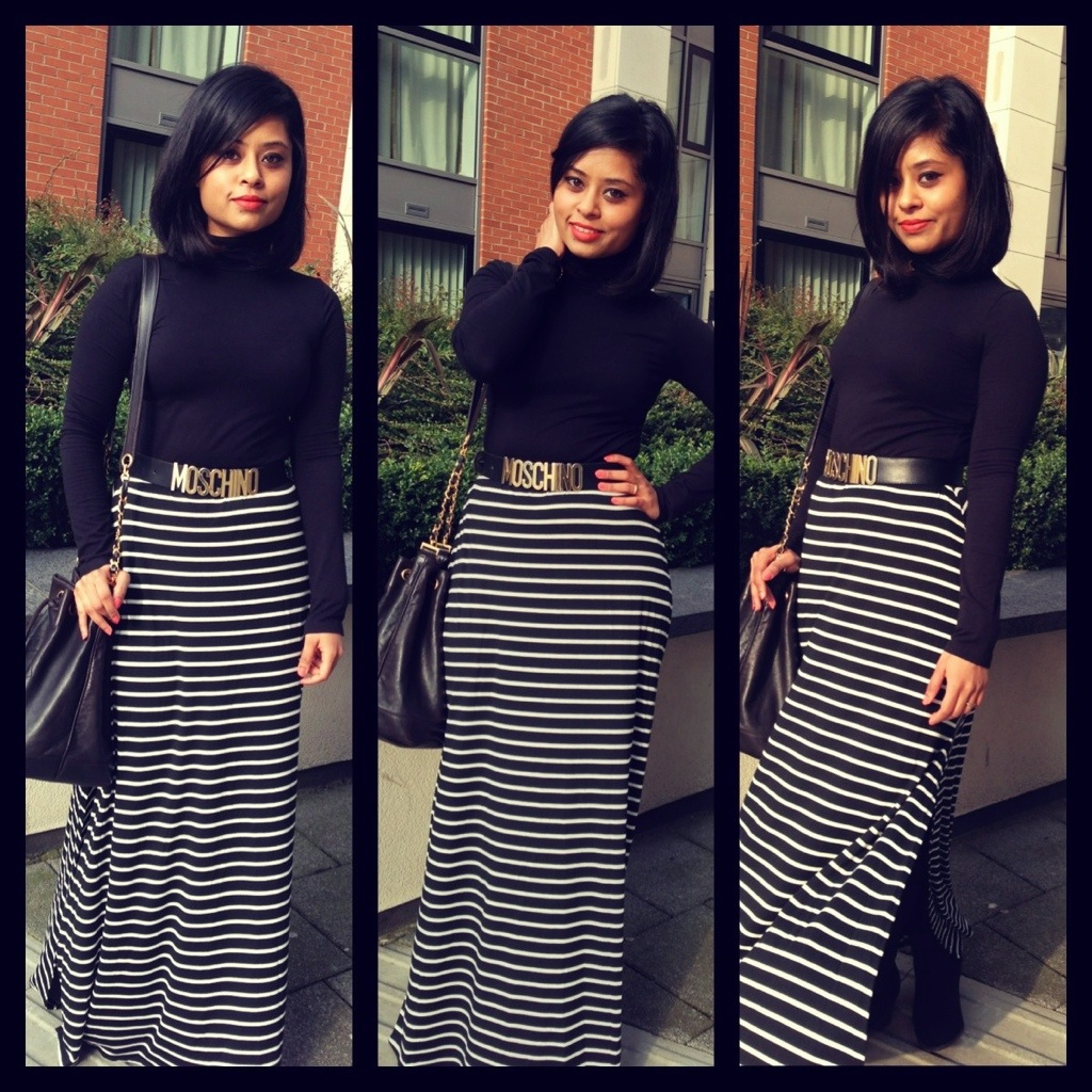 Maxi, black and stripe | Obsessions.......